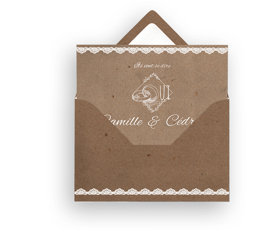 Conception faire-parts et invitations